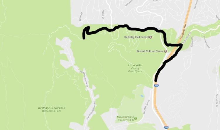 westridgecanyonbackwildernessmap