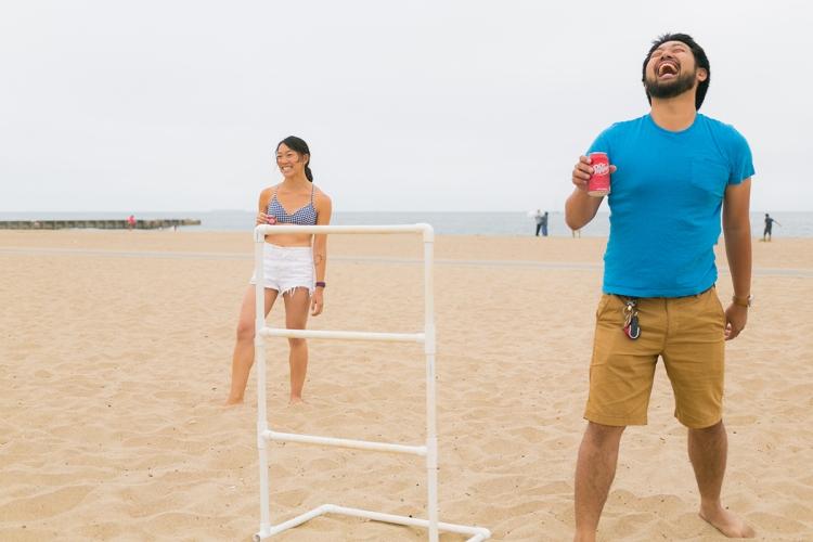 Beach Fun in the Summer