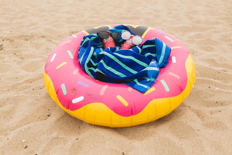 Beach Fun with Dr Pepper