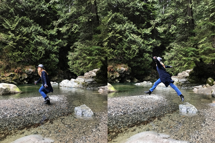 Jump Vancouver Hike Nature