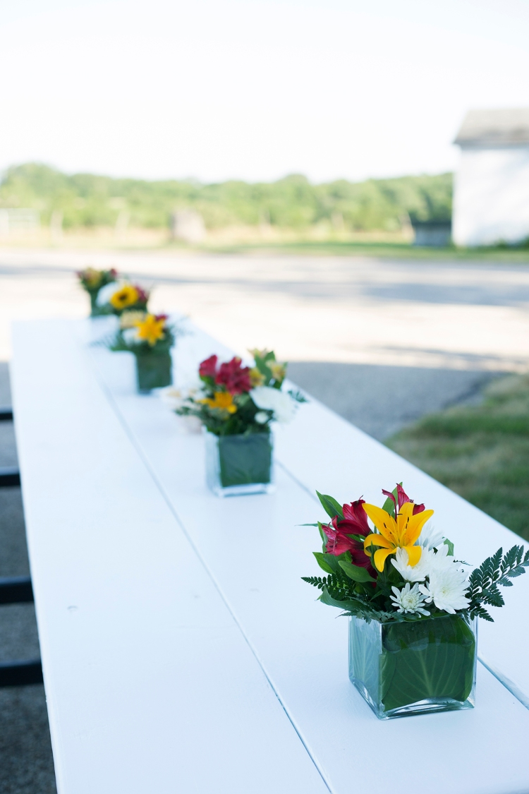 Farm Table Flowers