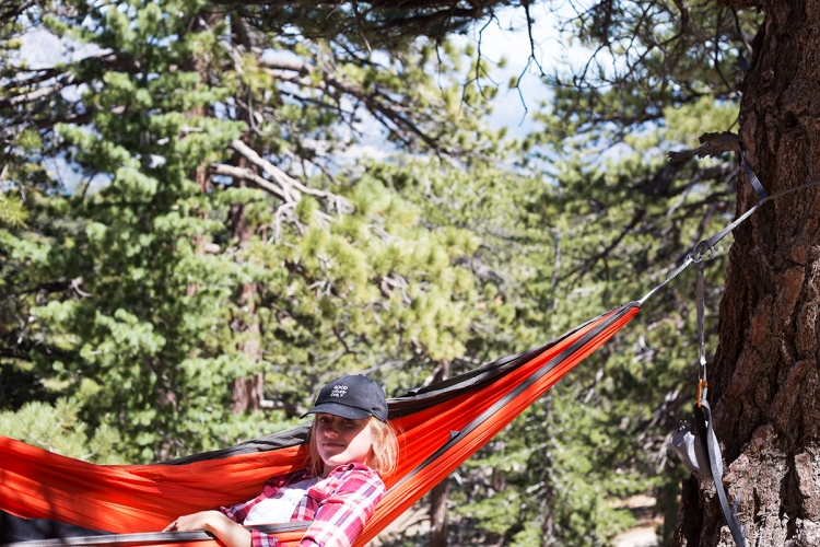 Kammock Roo Hammock in Angeles National Forest