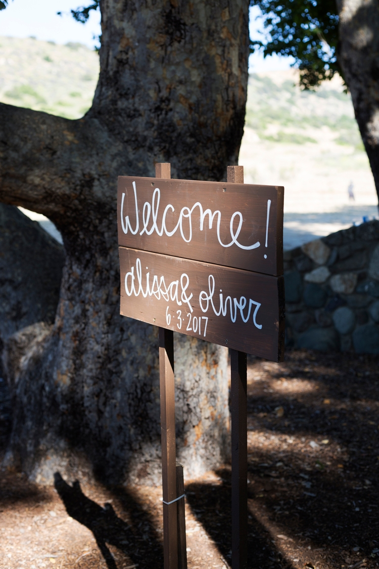 Wedding Wood Sign
