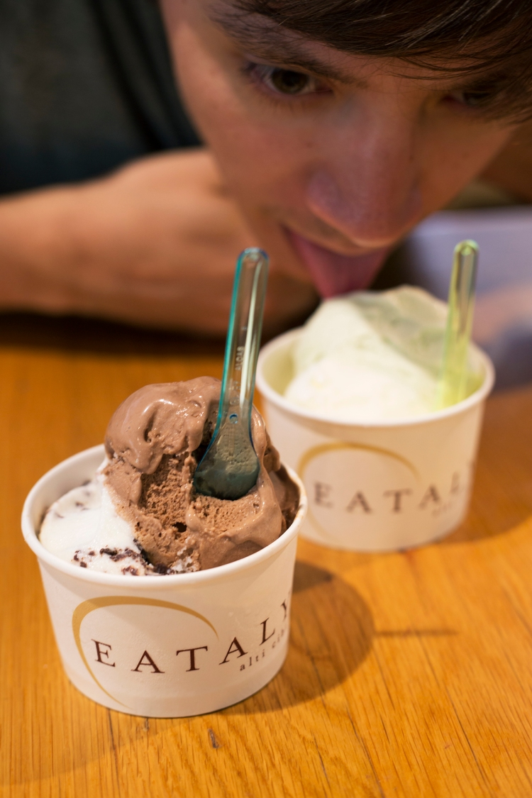 Eataly Gelato Chicago Illinois
