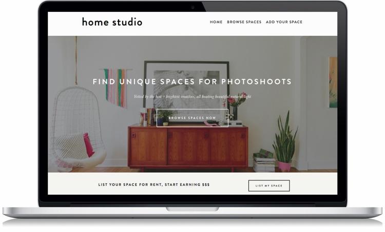 Find Unique Spaces For Photoshoots - Home Studio