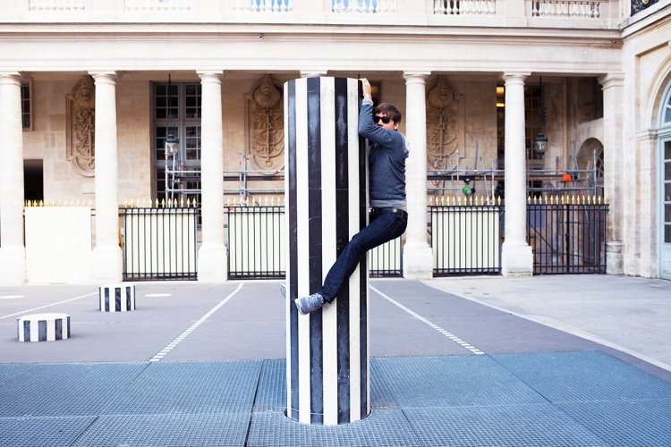 Art Installation Palais Royal