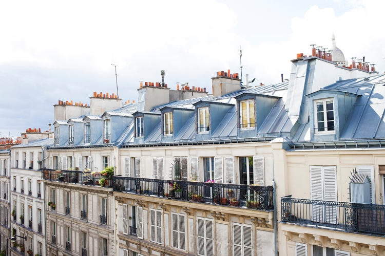 Balcony View Paris
