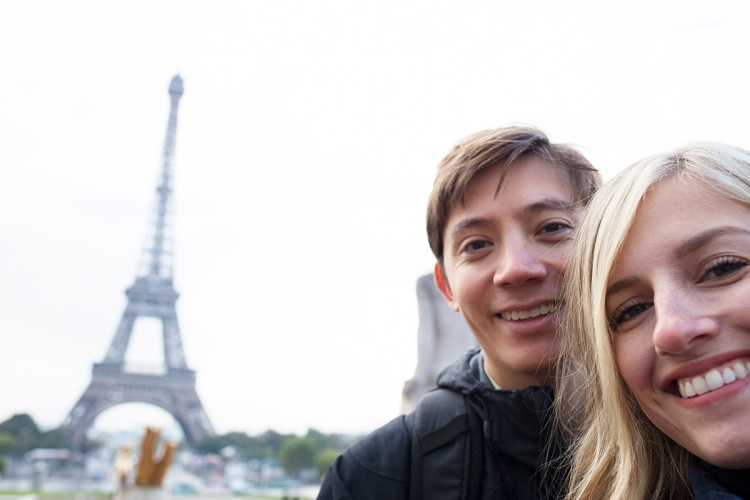 Couples Trip Paris