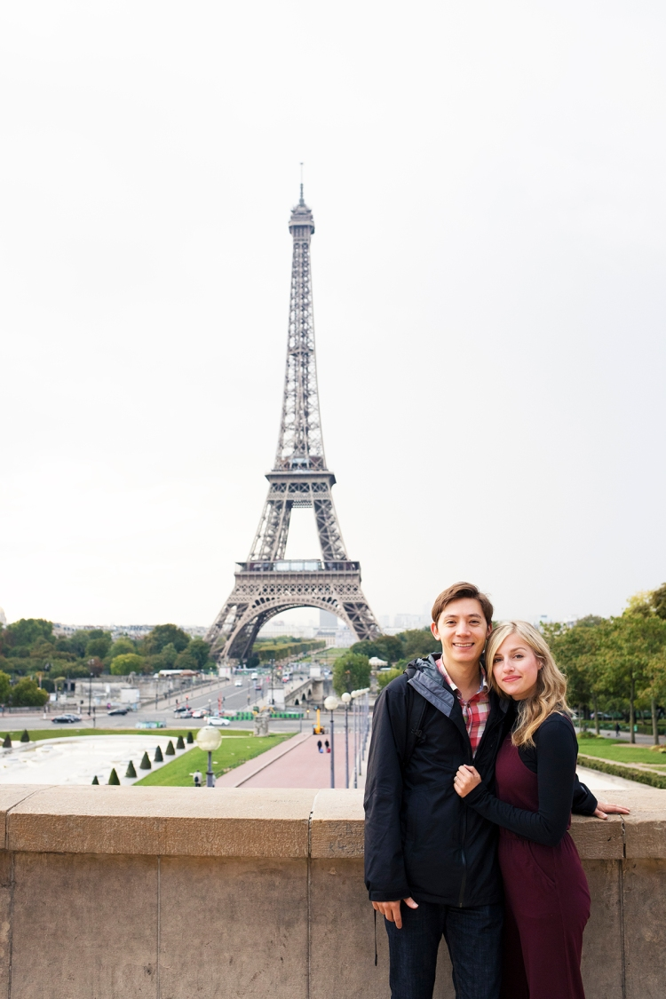 Love and Eiffel Tower
