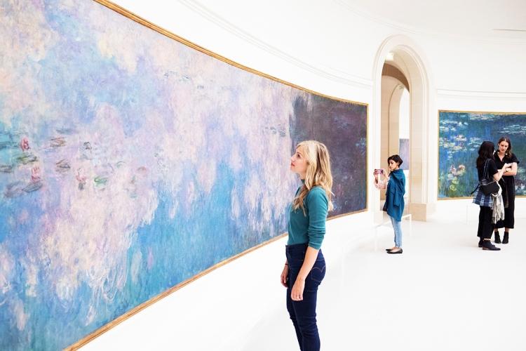 Monet Water Lilies Musee de L'Orangerie