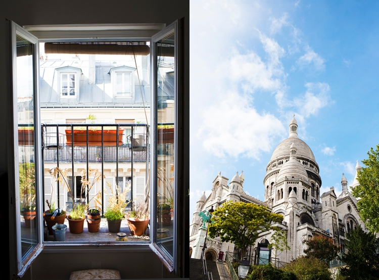 Montmartre Apartment in Paris