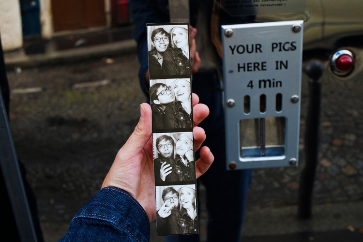 Photobooths in Paris