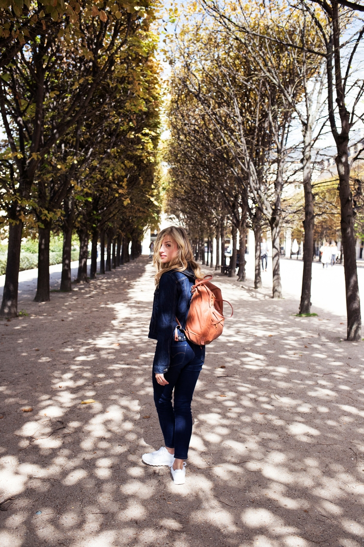 Strolling through Palais Royal Gardens