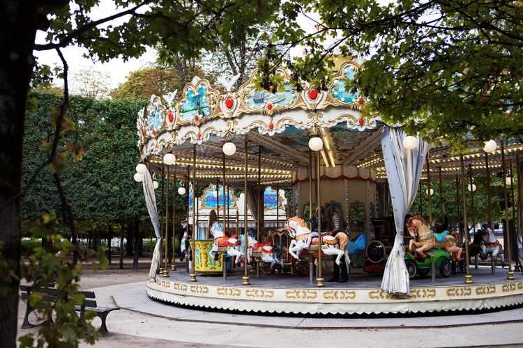 Tuileries Gardens Carousel