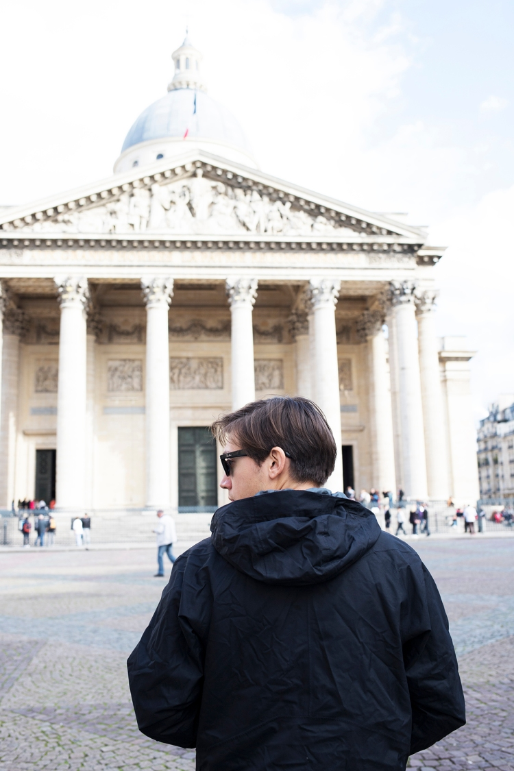 Visiting the Pantheon in Paris